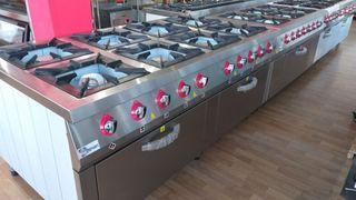 Cocinas a gas con horno