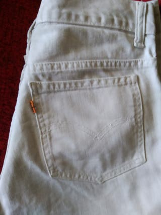 Pantalón Levi's original blanco