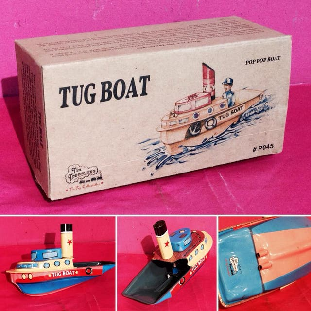 BARCO VAPOR ACEITE WELBY TUG BOAT