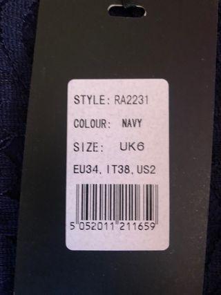 Vestido marca Iska london talla s