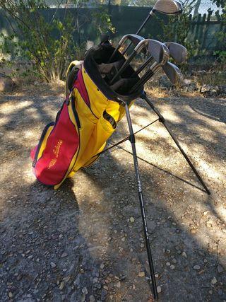 Palos Acer y bolsa de golf Ping Open Illes Balears
