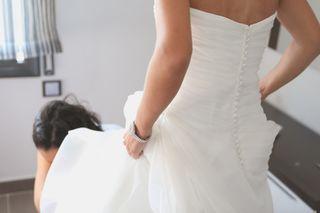 Vestido de novia mas zapatos