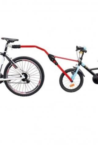 Barra remolque bici infantil