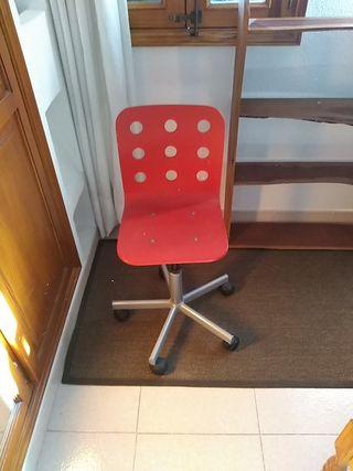 silla escritorio ikea infantil