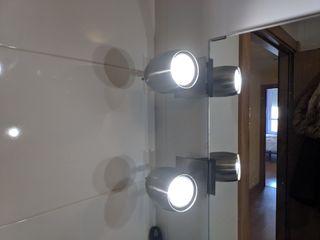 6 focos espejo