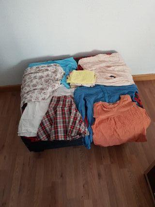 Lote ropa niña talla s/m 12/14