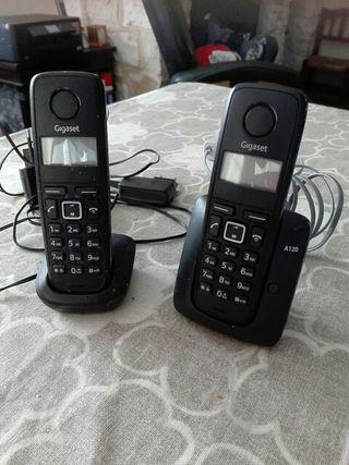 Telefonos inalambricos duo
