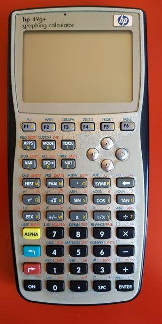 Calculadora HP 49+