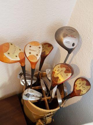 palos antiguos golf