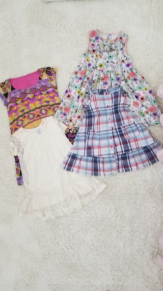 Lote vestido niña talla 2-3