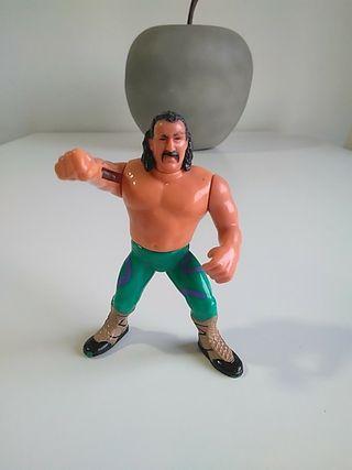 Figura WWF vintage. Hasbro.