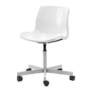2 Sillas de escritorio IKEA Snille blancas