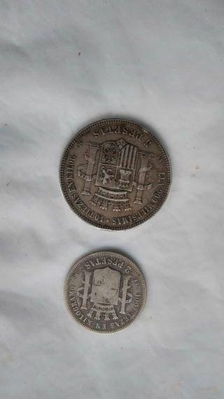 Monedas España 1870