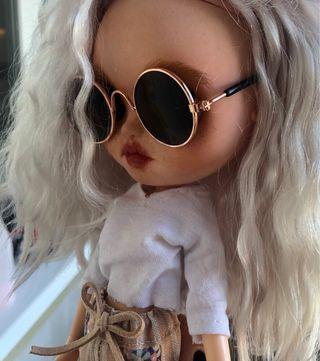 Gafas de sol para muñeca Blythe