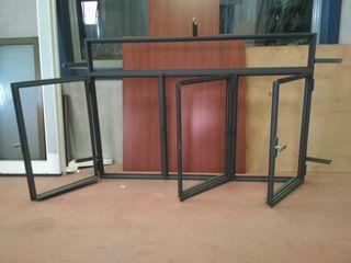 ventana de hierro abatible
