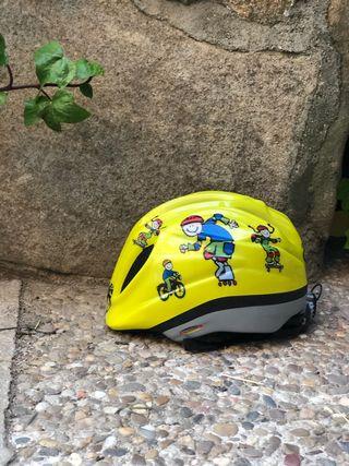 Casco niño bici