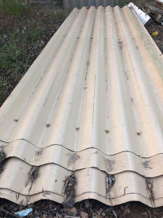 Chapa galvanizada para techo 3,65m x 1,10m
