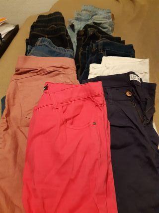 10×10€ pantalones para la niña de 11-12 años