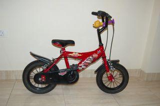 Bicicleta de Rayo McQueen