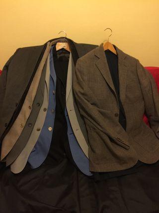 REBAJADO!!!!Lote Trajes y chaquetas T50