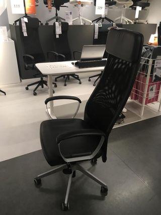 Silla oficina/despacho mod. Morkus de Ikea.