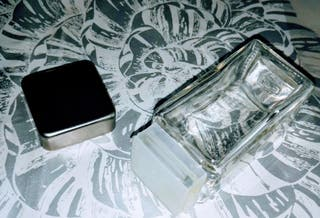 2 especieros inox y cristal