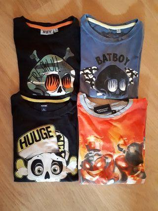 camisetas manga corta niño T 8