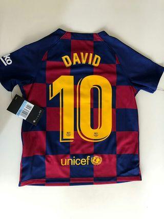 Camiseta Barsa niño con nombre