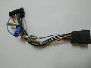 cables radio cd cassette cd conector iso car audio