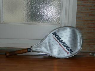 Raqueta de tenis Rossignol con funda