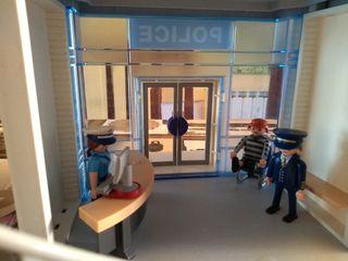 comisaría policía playmobil despiece