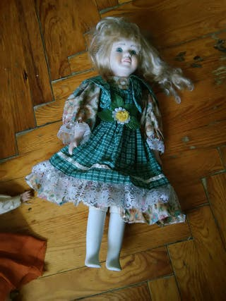 muñecas rosita antigua porcelana