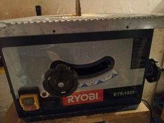 sierra de mesa Ryobi