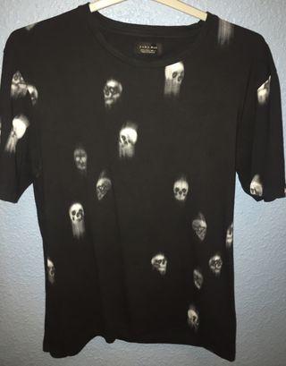 Camiseta de hombre Zara (Talla L)