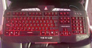 Teclado PC Gaming G-LAB económico
