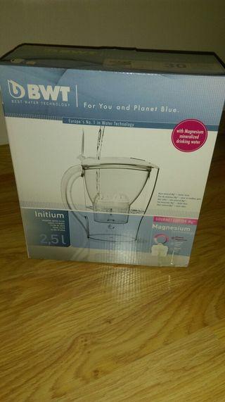 Jarra de agua con filtro