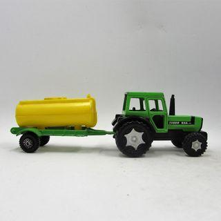 Tractor Deutz Fahr DX 6.31 Turbo con cisterna