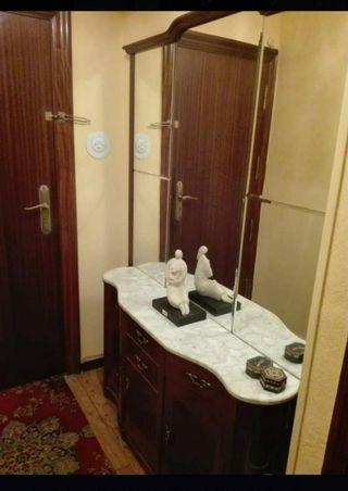 Chollo!Mueble entrada con gran espejo