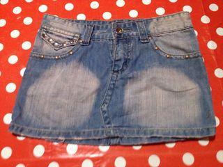 Minifalda Jeans talla S