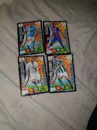 lote de cartas la liga