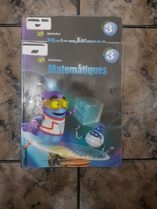 LIBROS DE MATEMÁTICAS 3 PRIMARIA COLE CAN SALVI
