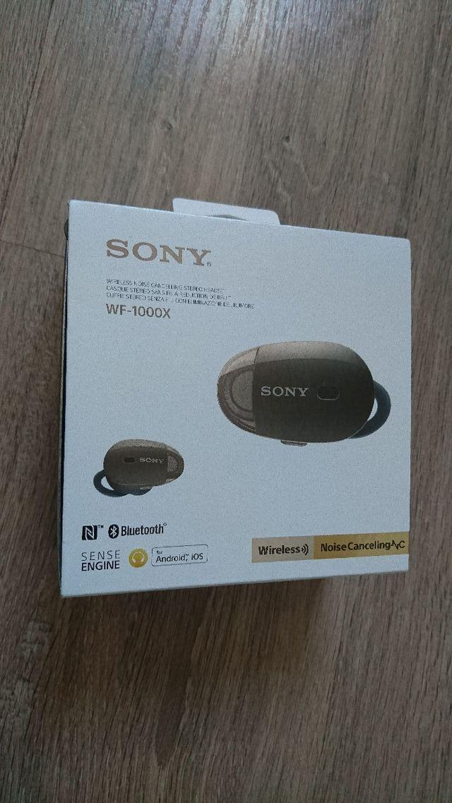 Auriculares a reducción de ruido Sony WF-1000X