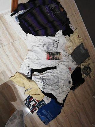 21 camisetas hombre talla m-l