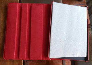 Funda Tablet roja Nueva