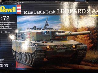 Maqueta militar tanque Leopard 2 A4