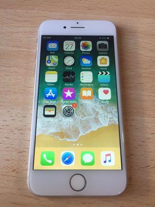 iPhone 7 Silver Como Nuevo
