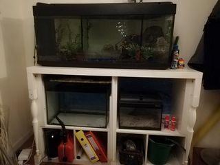 acuario, lote de cuarios de 300l 80 l y 25l