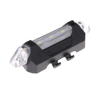 Luz de bicicleta recargable por USB BLANCA