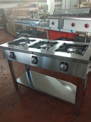 Cocinas a gas con mueble