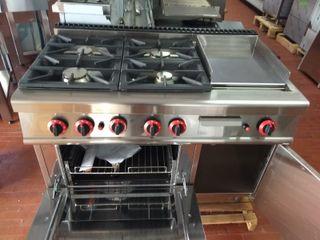 Cocina 4 fuegos a gas